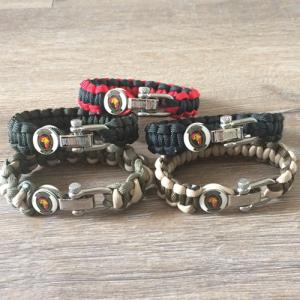 game rangers paracord bracelet