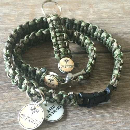 custom paracord survival bracelet